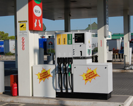 gas station of S.A.V.O. in Portogruaro